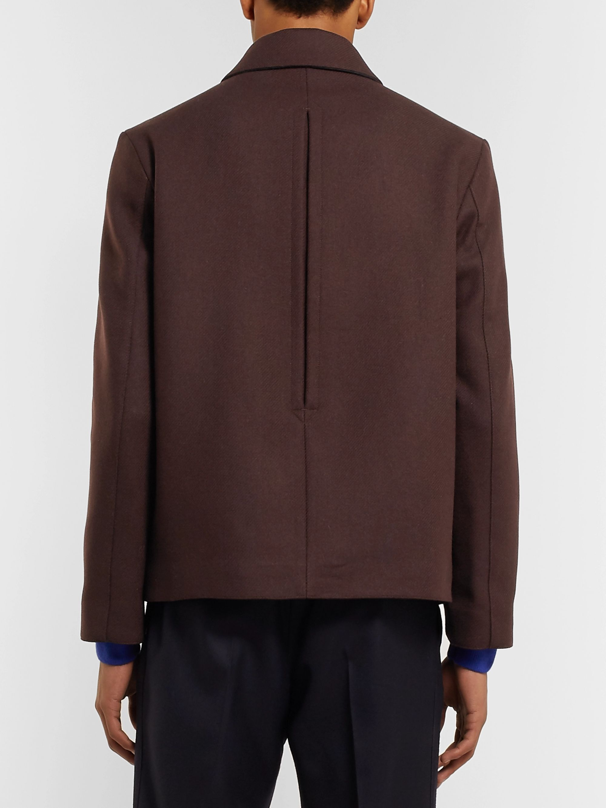 Mr P. Wool-Blend Blouson Jacket