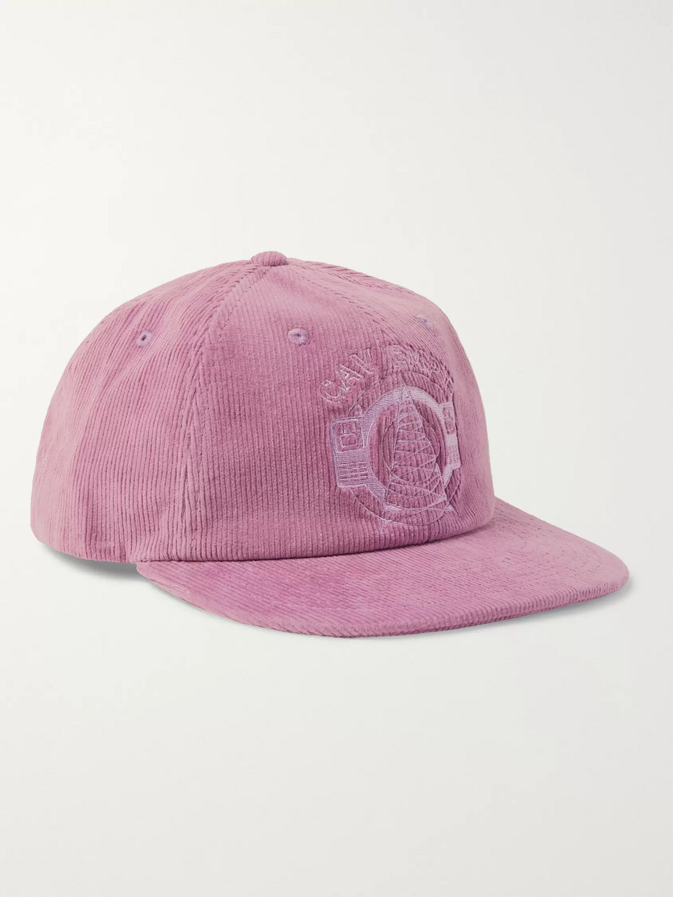 Cav Empt Logo-Embroidered Cotton-Corduroy Baseball Cap