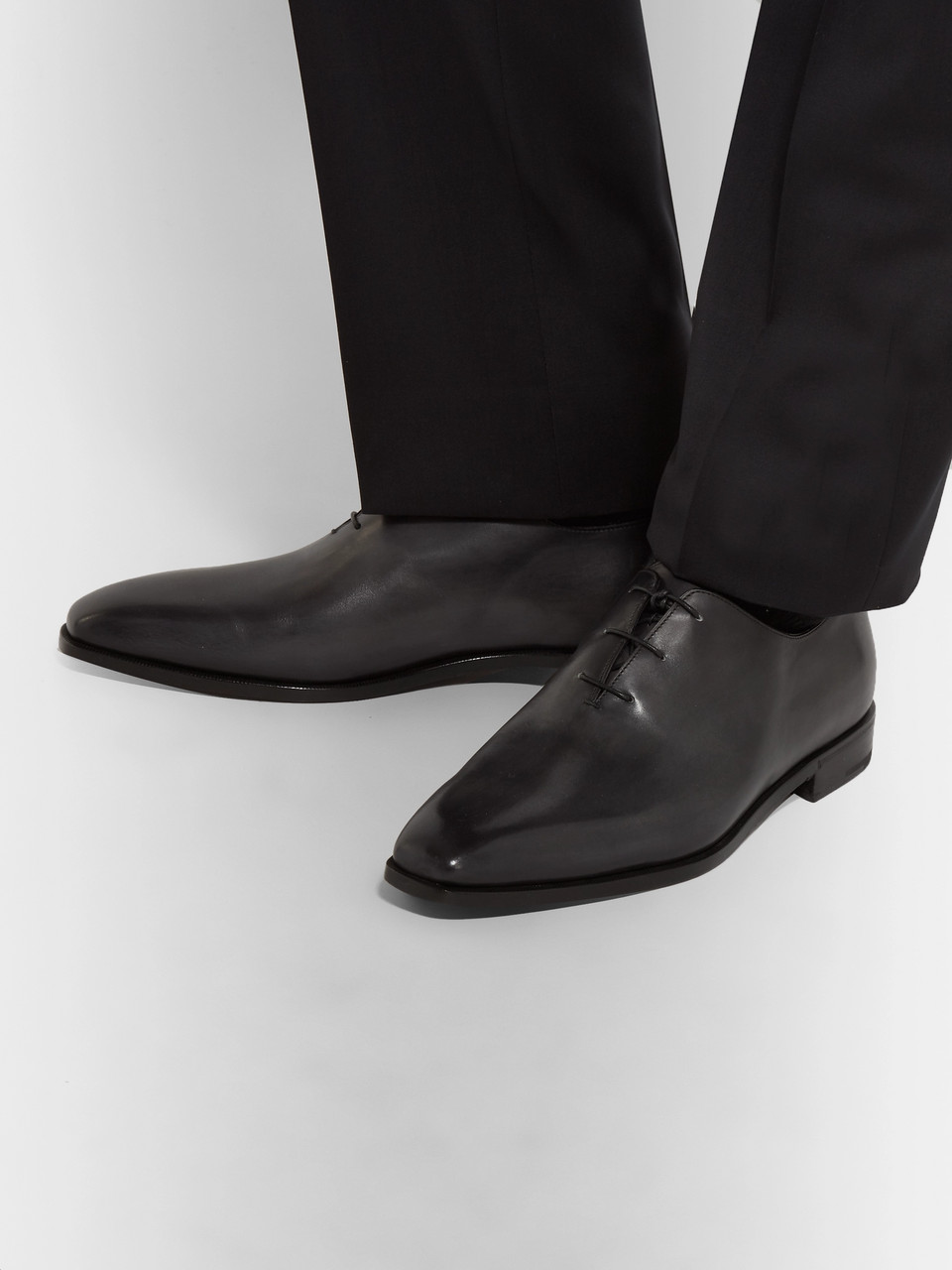 Berluti Leather Oxford Shoes