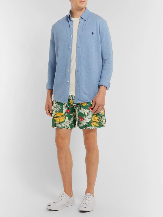 Polo Ralph Lauren Traveller Mid-Length Printed Swim Shorts