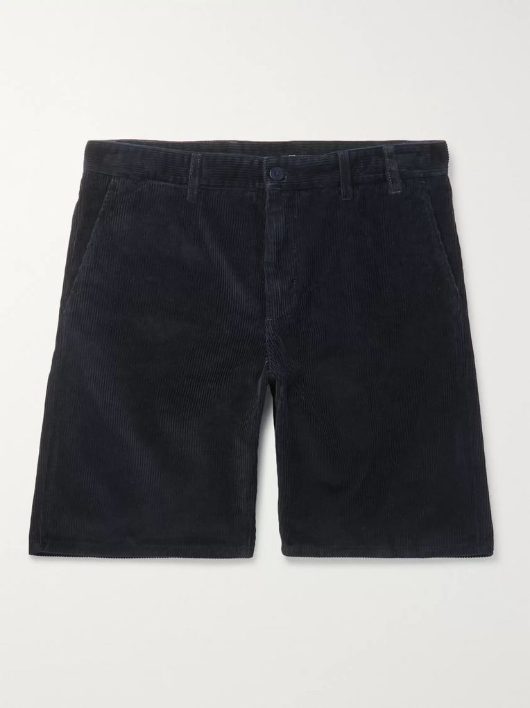 Norse Projects Aros Cotton-Corduroy Shorts