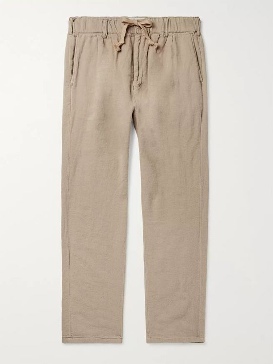 Remi Relief Tapered Cotton Drawstring Chinos