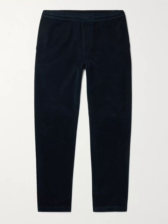 NN07 Foss Tapered Cotton-Corduroy Trousers