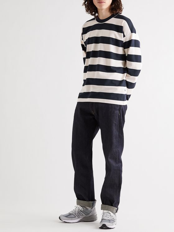 NN07 Benja 3462 Striped Piqué T-Shirt