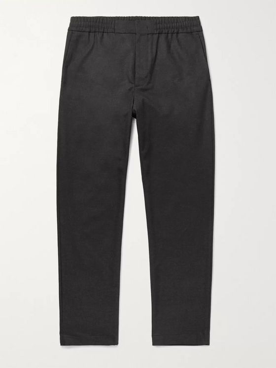 NN07 Foss Tapered Flannel Trousers