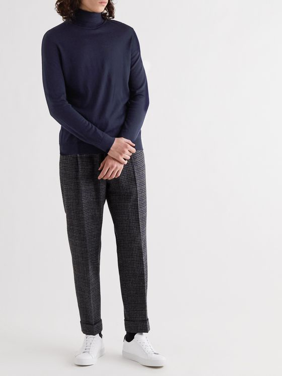 NN07 Richard Wool Rollneck Sweater