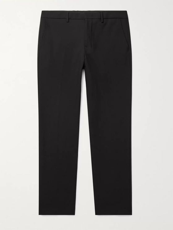NN07 Cade Tapered Flannel Trousers