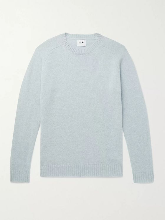 NN07 Nathan Mélange Wool Sweater
