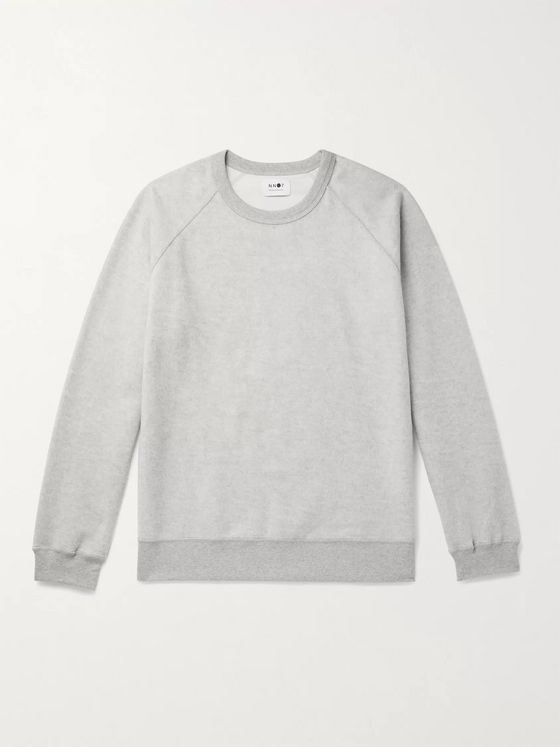 NN07 Elliott 3454 Mélange Cotton Sweatshirt