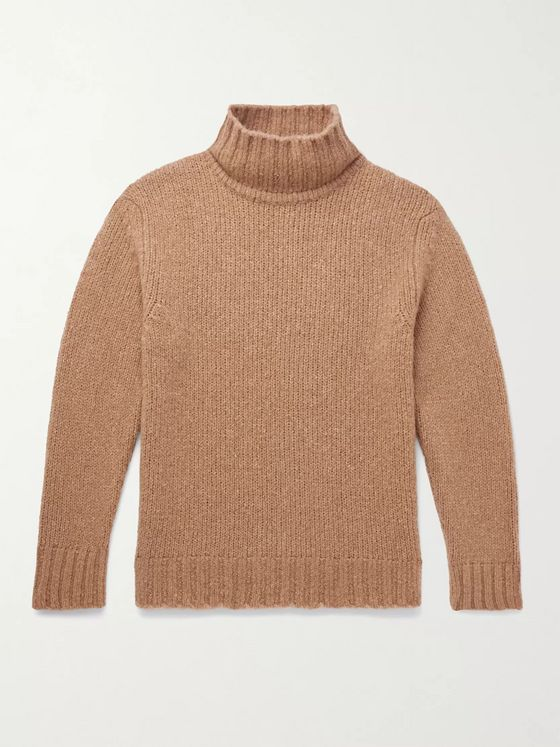 NN07 Douglas Wool-Blend Rollneck Sweater