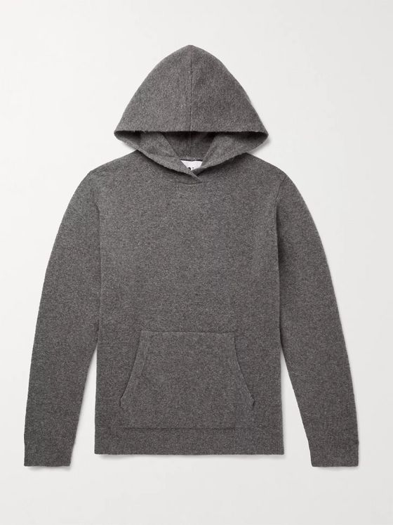 NN07 Mark Slim-Fit Wool-Blend Hoodie