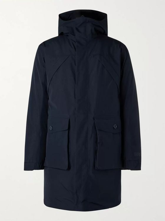 NN07 Erik GORE-TEX Shell Hooded Down Jacket