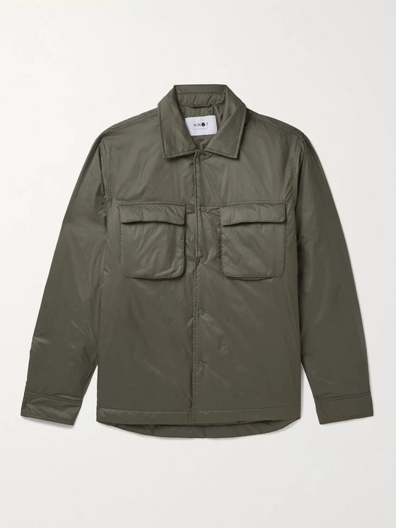 NN07 Columbo Padded Shell Overshirt