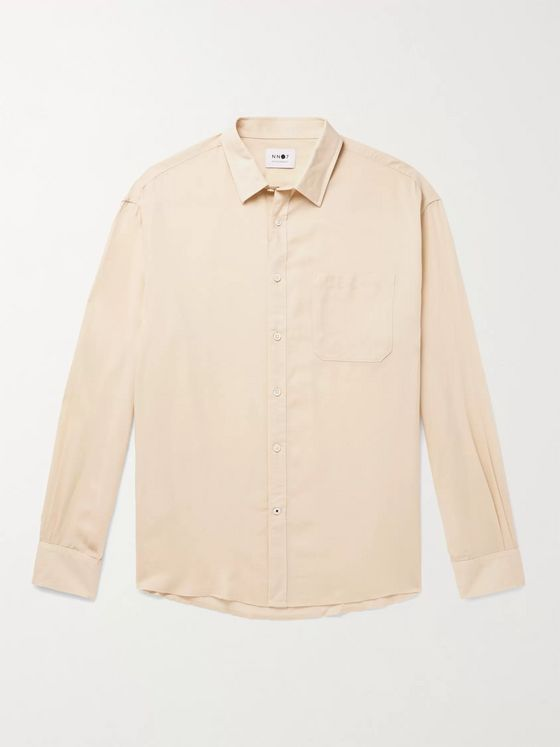 NN07 Deon Tencel and Wool-Blend Shirt