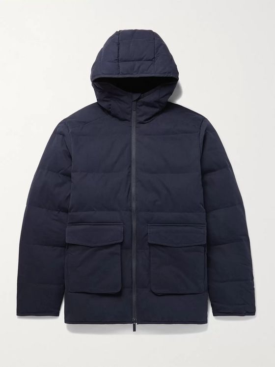 NN07 Mason 8259 Quilted Cotton-Blend PrimaLoft Hooded Jacket