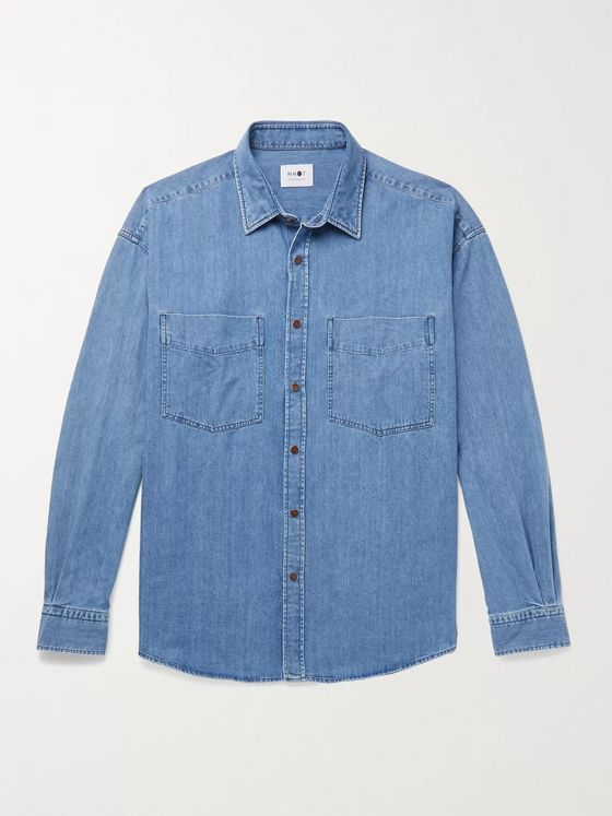 NN07 Deon Western Denim Shirt