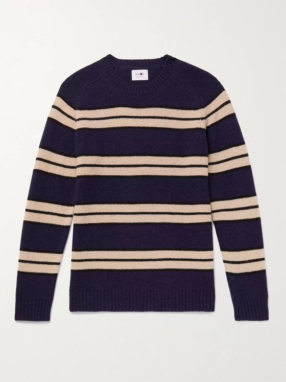 NN07 Nathan Striped Wool Sweater