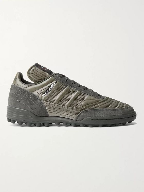 adidas Consortium + Craig Green Kontuur III Suede and Metallic Canvas Sneakers