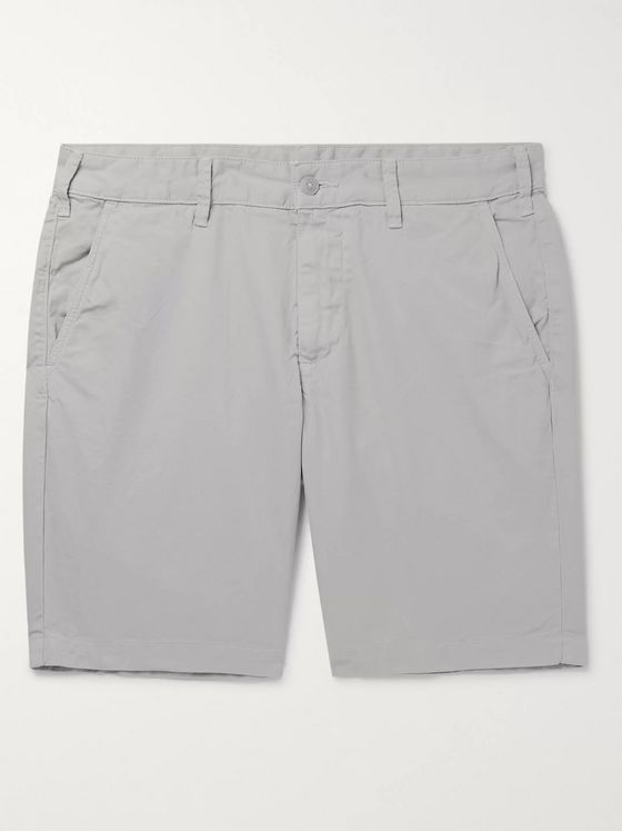 Save Khaki United Slim-Fit Cotton-Twill Bermuda Shorts