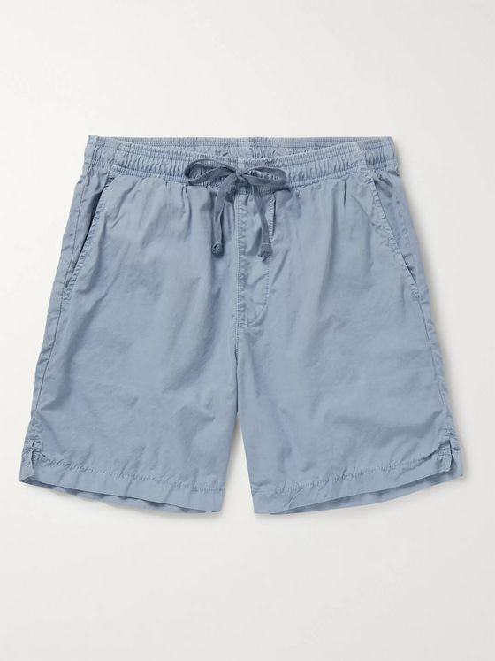 Save Khaki United Easy Slim-Fit Cotton-Poplin Drawstring Shorts