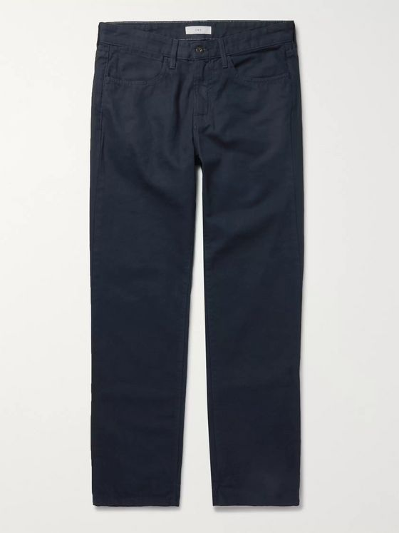 Save Khaki United Standard Slim-Fit Cotton-Canvas Trousers