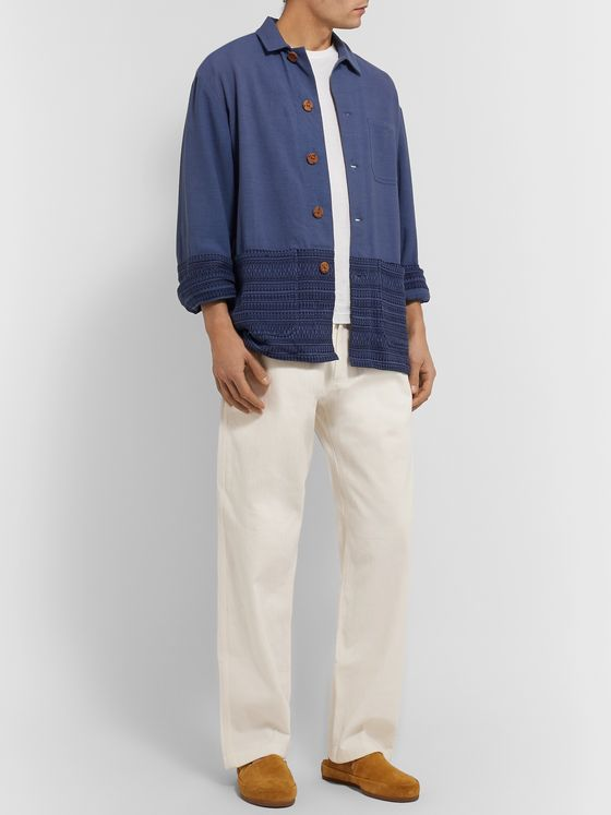 SMR Days Herringbone Cotton Trousers