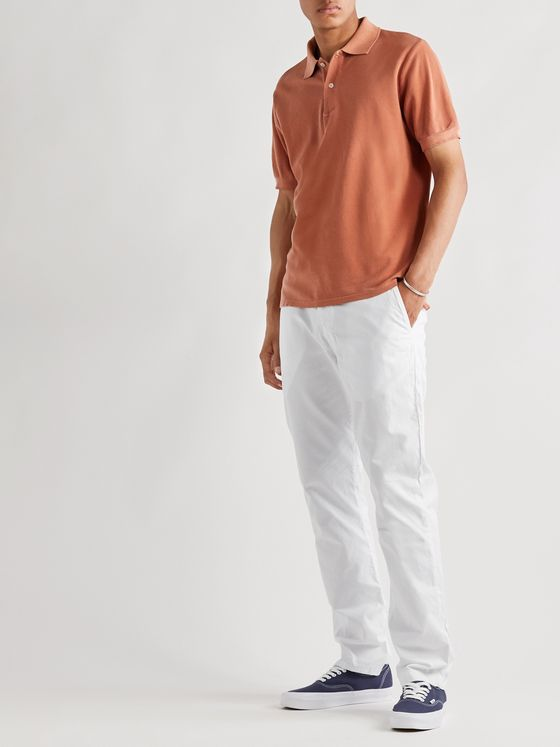 Save Khaki United Slim-Fit Cotton-Twill Chinos