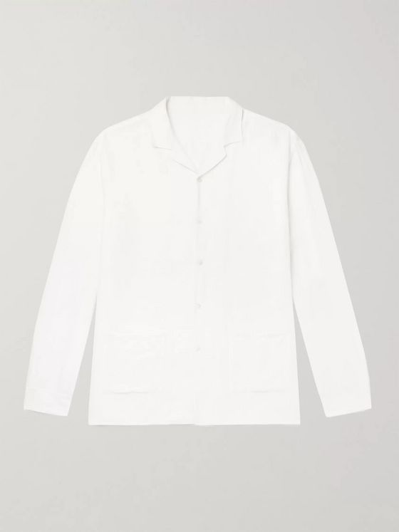SMR Days Camp-Collar Cotton Shirt