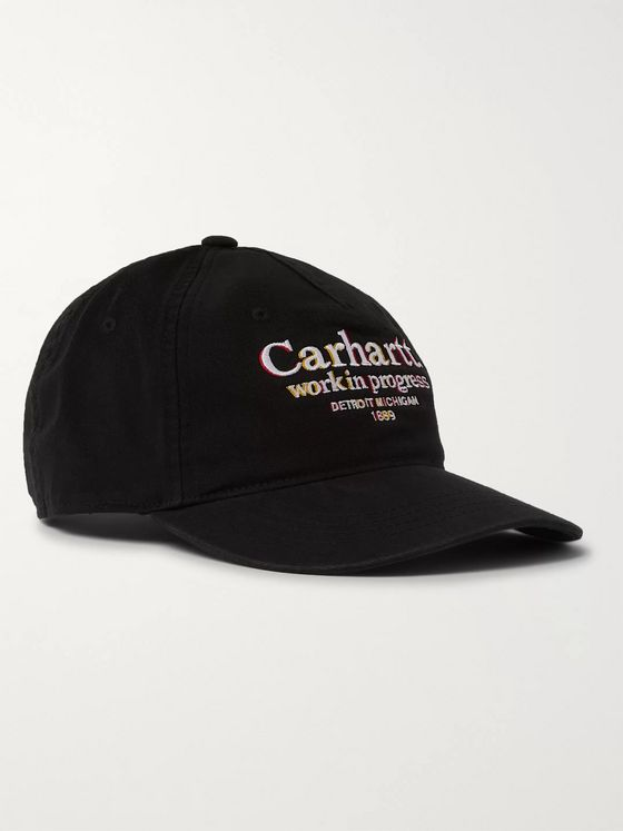 Carhartt WIP Logo-Embroidered Cotton-Twill Baseball Cap