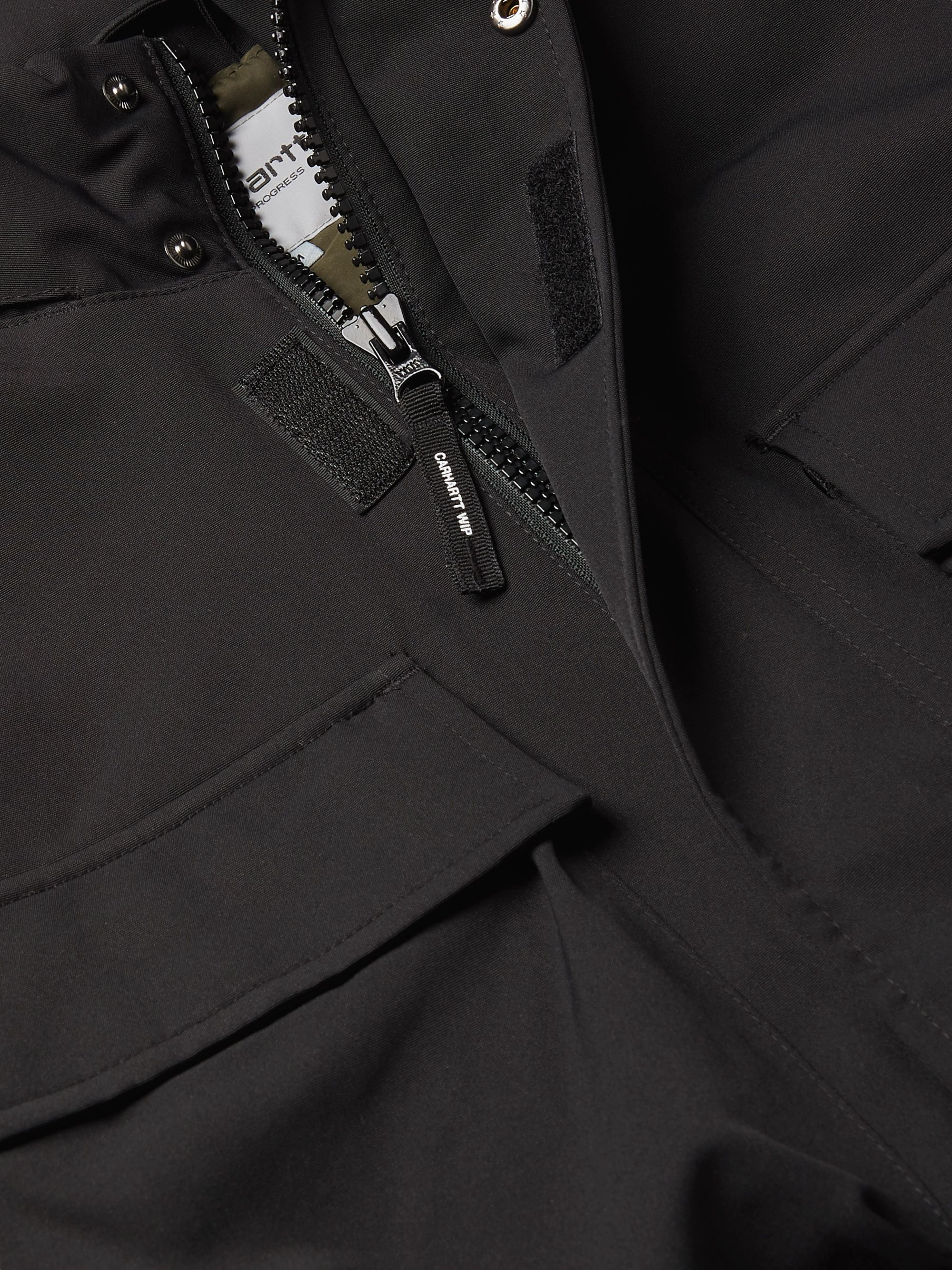 Black Colewood Padded Shell Jacket   Carhartt Wip