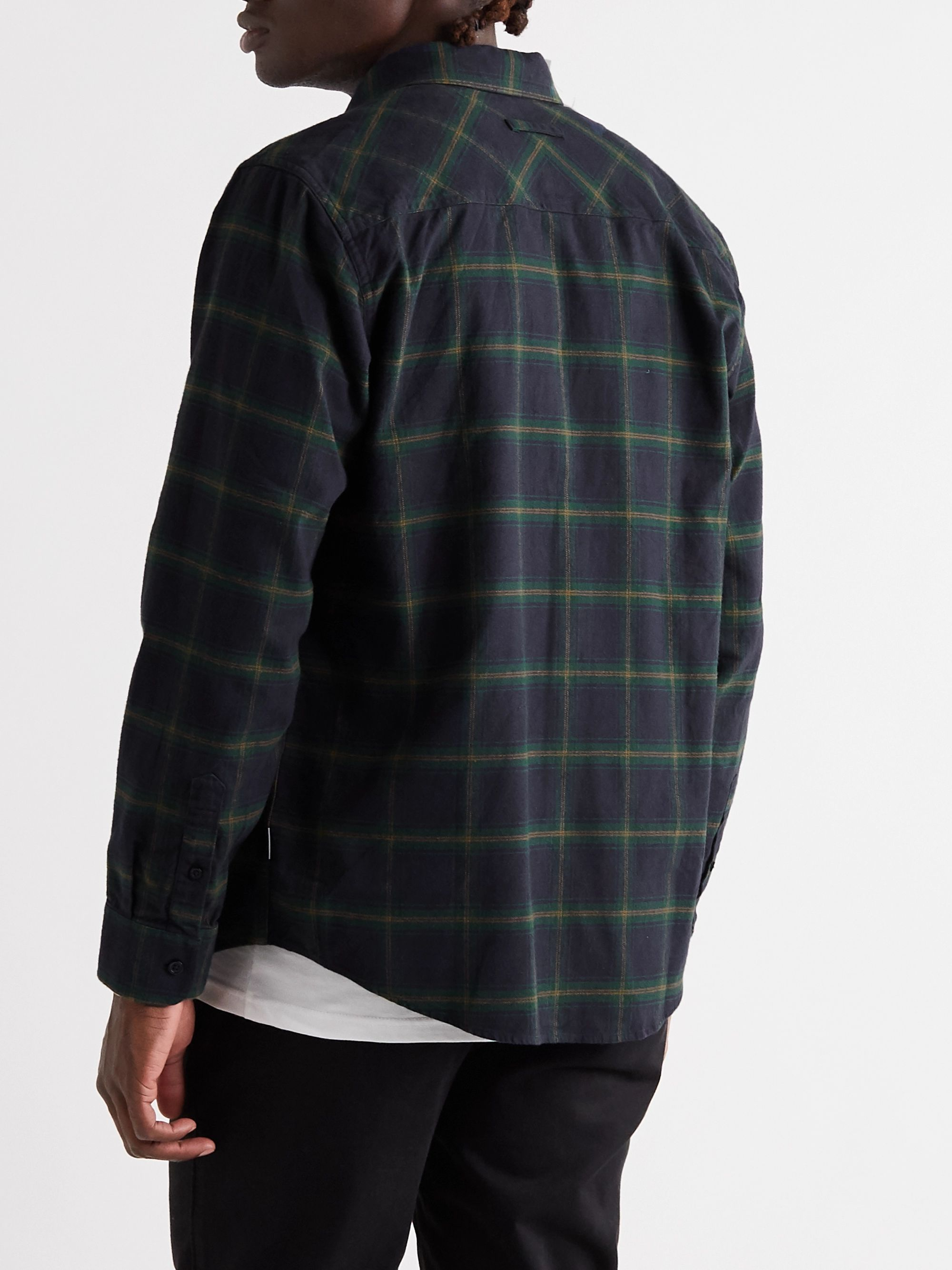 Carhartt WIP Checked Cotton-Flannel Shirt