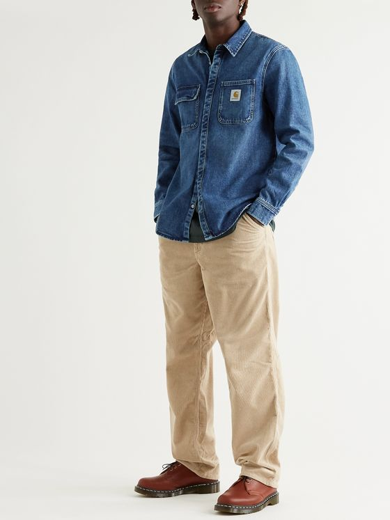 CARHARTT WIP Salinac Washed Denim Shirt