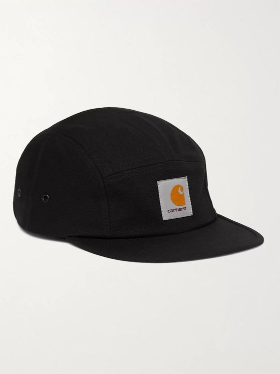 CARHARTT WIP Backley Logo-Appliquéd Cotton-Canvas Baseball Cap
