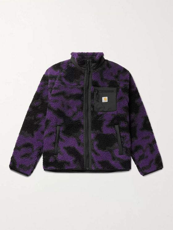 Carhartt WIP Camouflage Fleece Jacket