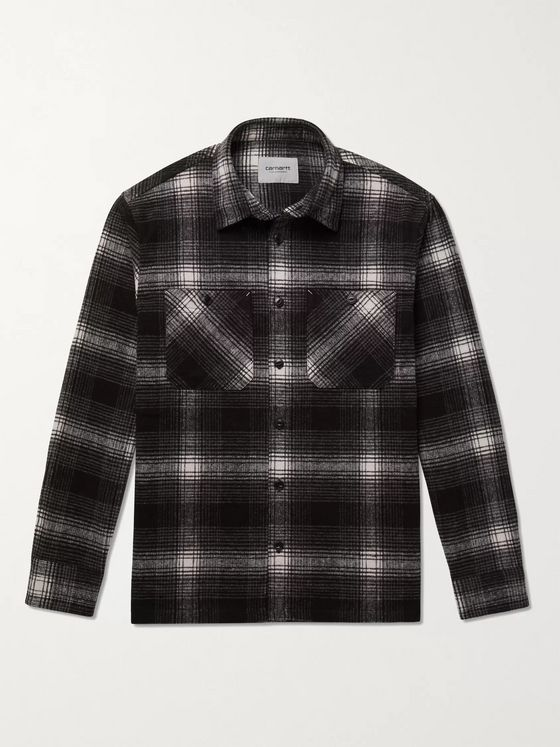 Carhartt WIP Nigel Checked Flannel Shirt