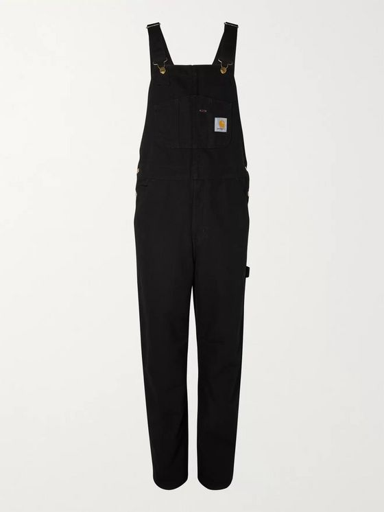CARHARTT WIP Organic Cotton-Canvas Overalls