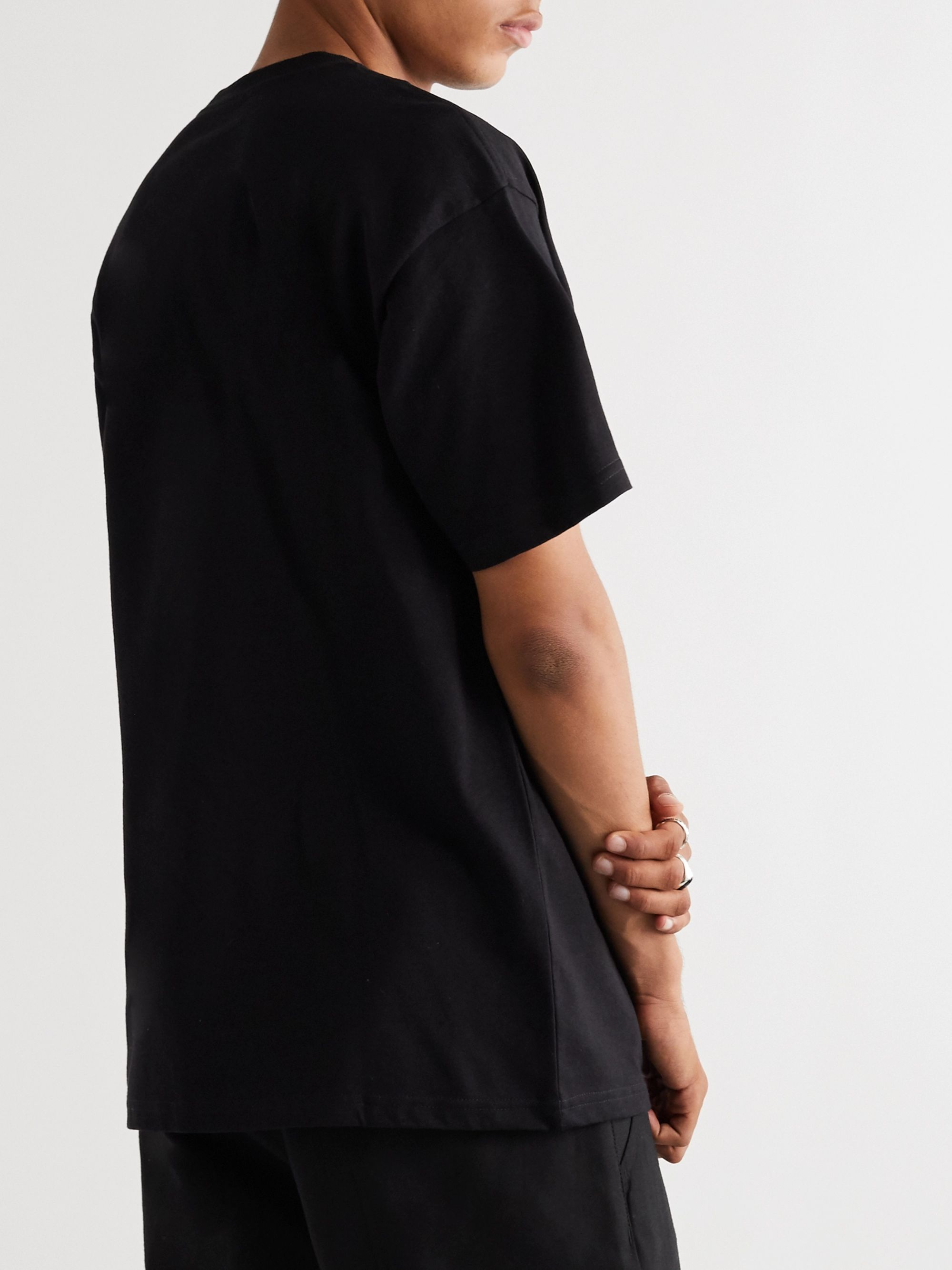 Carhartt WIP Logo-Embroidered Cotton-Jersey T-Shirt