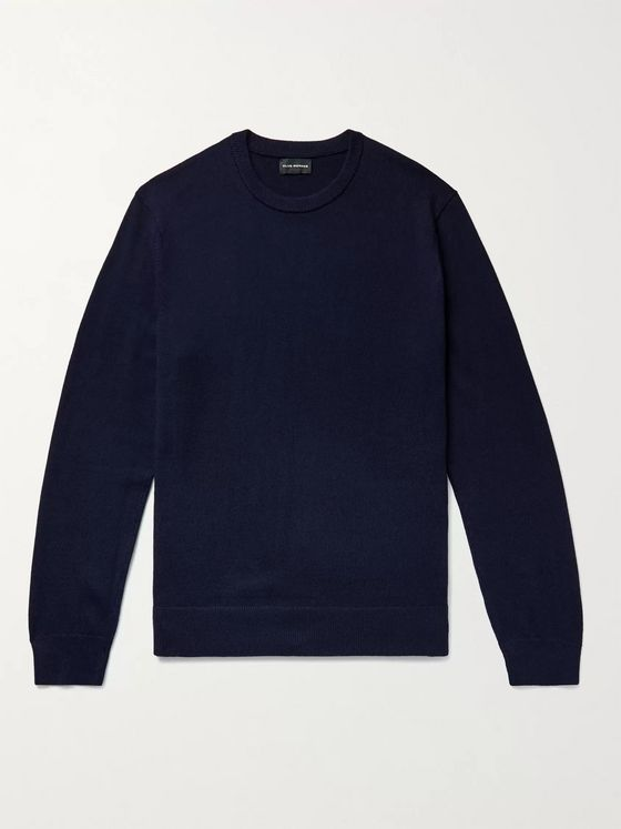 CLUB MONACO Slim-Fit Piped Wool Sweater