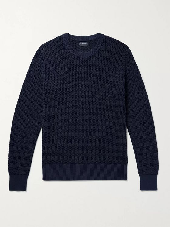 CLUB MONACO Sunset Cotton-Blend Sweater