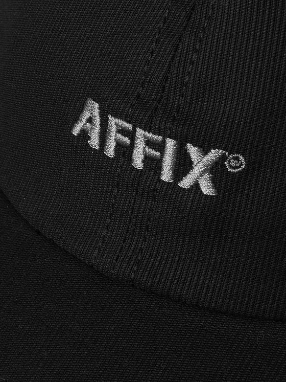 AFFIX Logo-Embroidered Cotton-Drill Baseball Cap