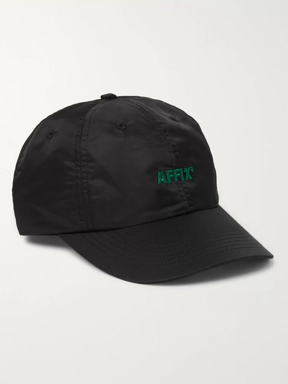 AFFIX Logo-Embroidered Nylon Baseball Cap
