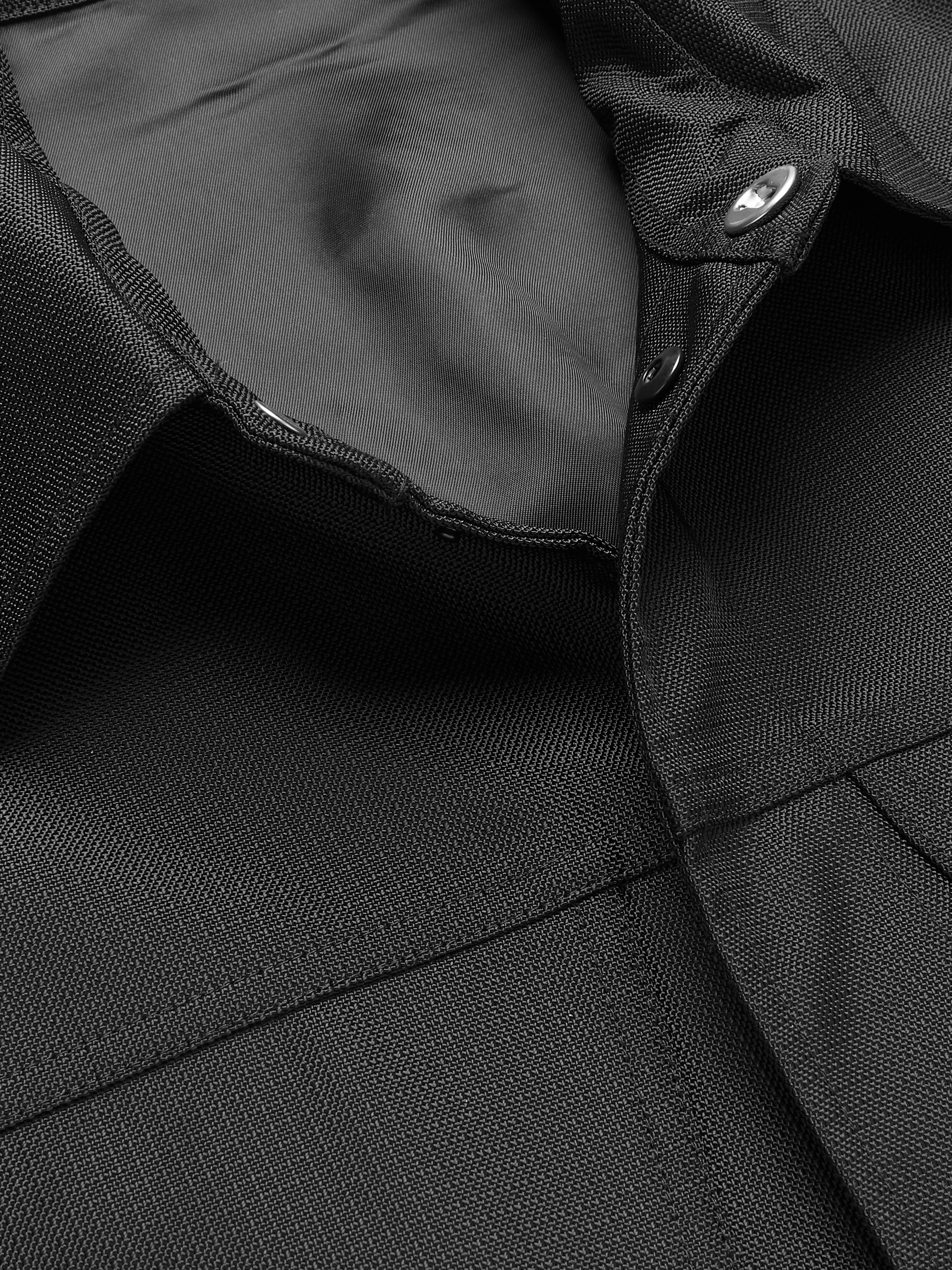 Black Cordura Coat | Affix