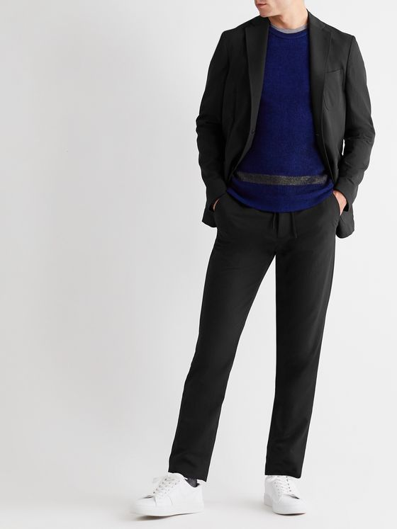 INCOTEX Urban Traveller Slim-Fit Tech-Twill Suit Trousers