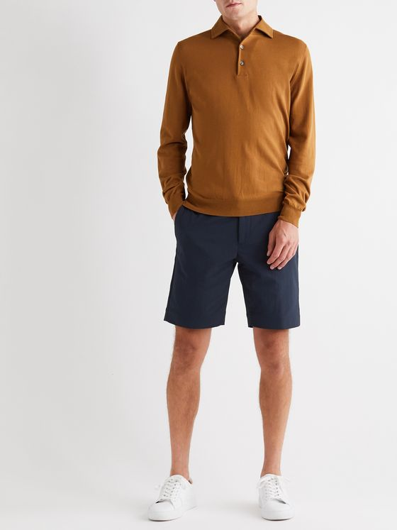 INCOTEX Urban Traveller Slim-Fit Tech-Twill Shorts