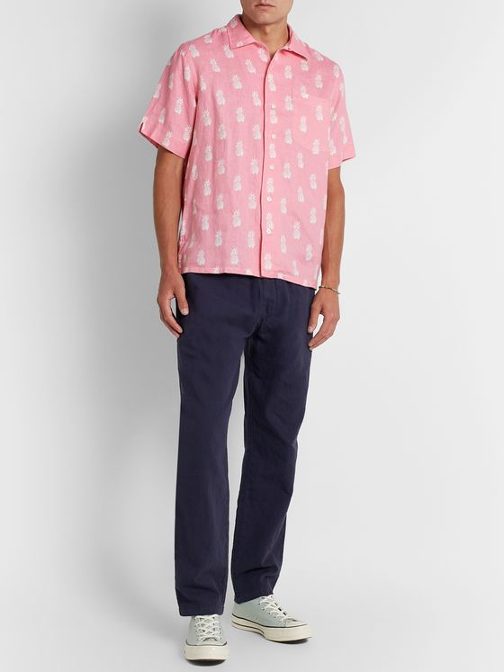 POLO RALPH LAUREN Printed Linen Shirt