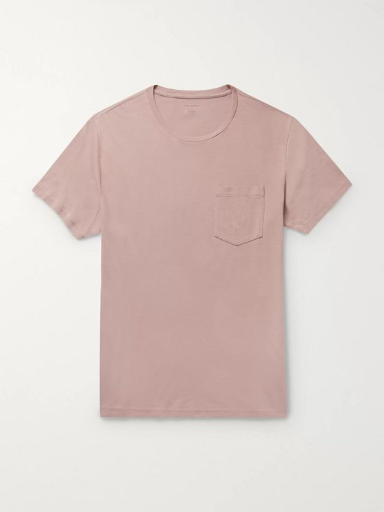 Club Monaco Williams Garment-Dyed Cotton T-Shirt