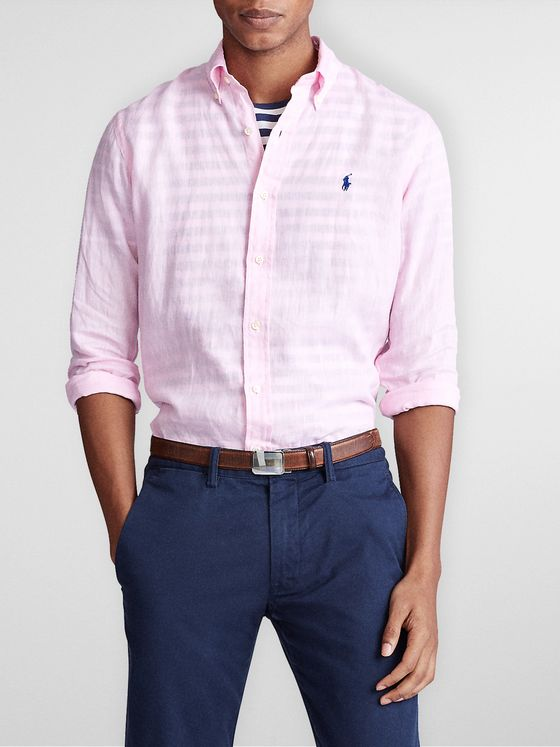 Polo Ralph Lauren Slim-Fit Linen Shirt