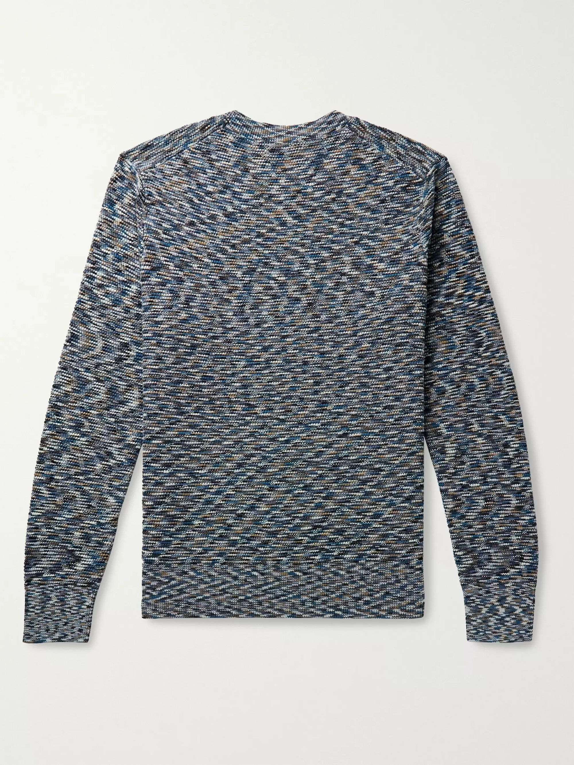 Club Monaco Space-Dyed Cotton Sweater