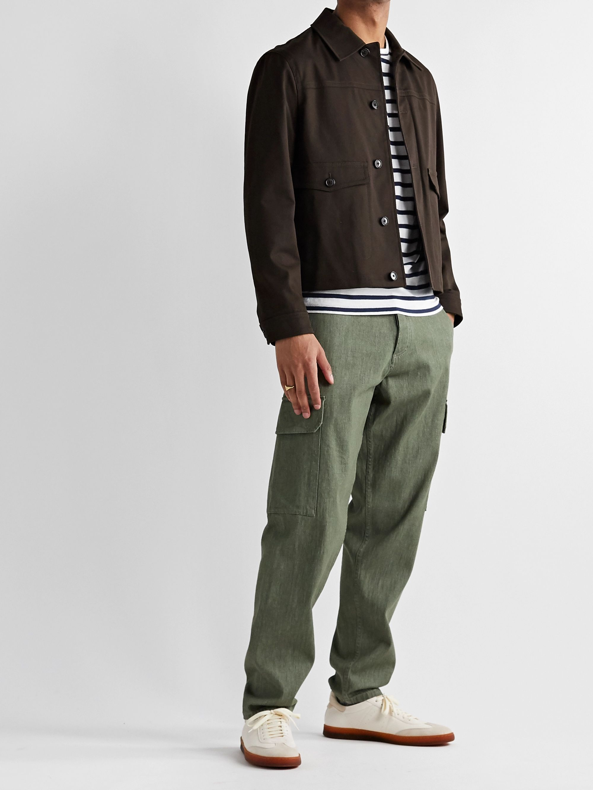 Club Monaco Cotton-Blend Twill Chore Jacket