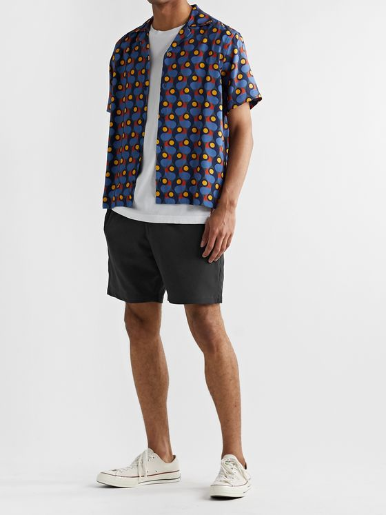 Club Monaco Stretch-Jersey Drawstring Shorts